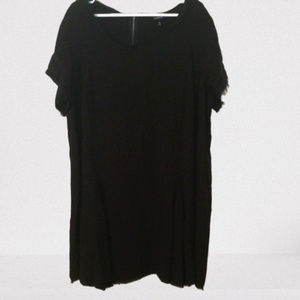Torrid Black Dress Rayon Short Sleeves 3/3X/22-24